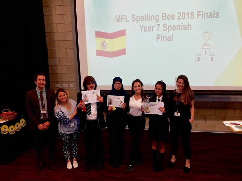 Spelling Bee Year 7 Spanish Final