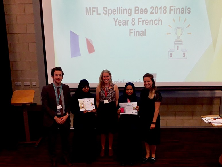Spelling Bee Year 8 French Final