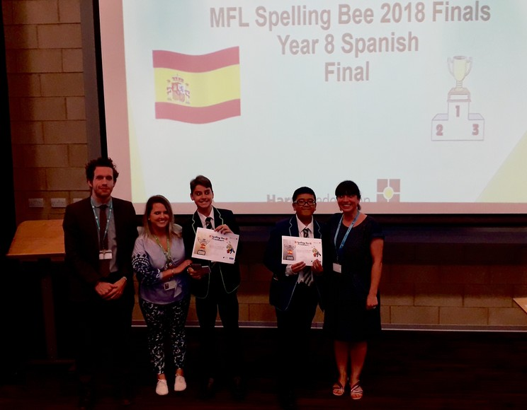 Spelling Bee Year 8 Spanish Final