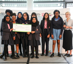 HAB Girls Win 'City Pitch' Prize from Mayor