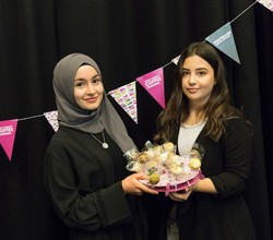 Year 13 Business Students Host Macmillan Coffee Morning