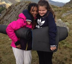 Girls Go Wild Camping in Wales