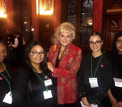 HAB Feminist Society Stars at House of Commons