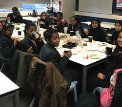 HAB Girls Enjoy Maths Club Tea Party