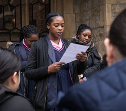 Tower of London Inspires Young City Poets