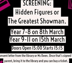 HAB Cinema Screenings, 8th & 15th March - Ticket Details