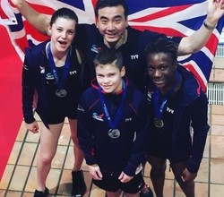 Andrea Wins Bronze Diving Medal for GB