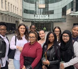 HAB Girls Live on Victoria Derbyshire BBC TV Show