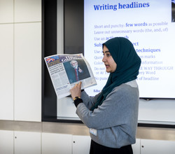 Guardian Helps Students Make Newspaper - Thien, Year 10, Reports