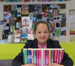 Anita, The Girl Who Donated 15 Books. By Zainab, Year 11