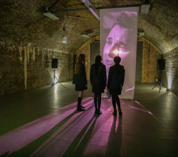 Utopia - Students Add to Audio-Visual Installation at Vauxhall Gallery