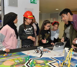 First Lego League Competition at Queen Mary University
