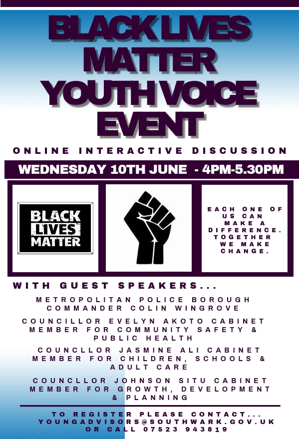 BLM YOUTH VOICE EVENT