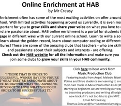 HAB@Home - Issue 14 of our Community Newsletter