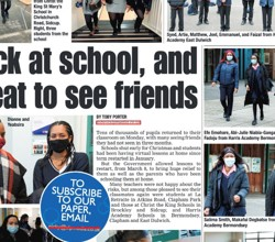 HAB Girls Feature in South London Press