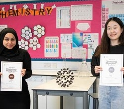 HAB Girls Win Medals in Chemistry Olympiad