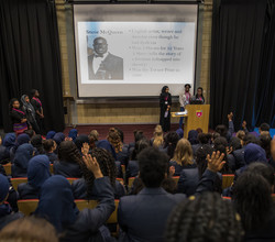 """Courage and Resilience"" - Black History Messages Spread by Sixth Formers"