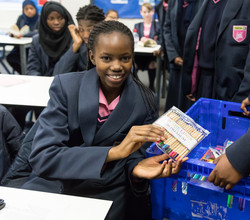 Girls Collect 7,000 Items for Crisis at Christmas