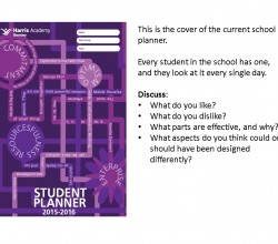 Design your own student planner!