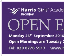 Open Evening - 26 September 2016