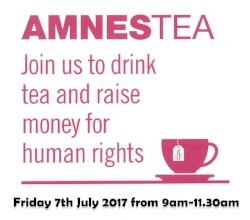 Amnestea Coffee Morning - 7 July 2017