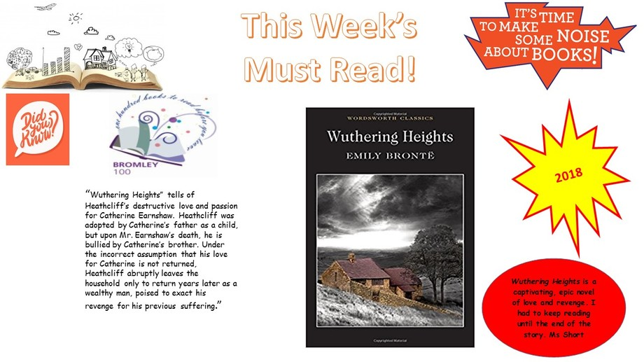 HGABR This Week's Must Read Wuthering Heights