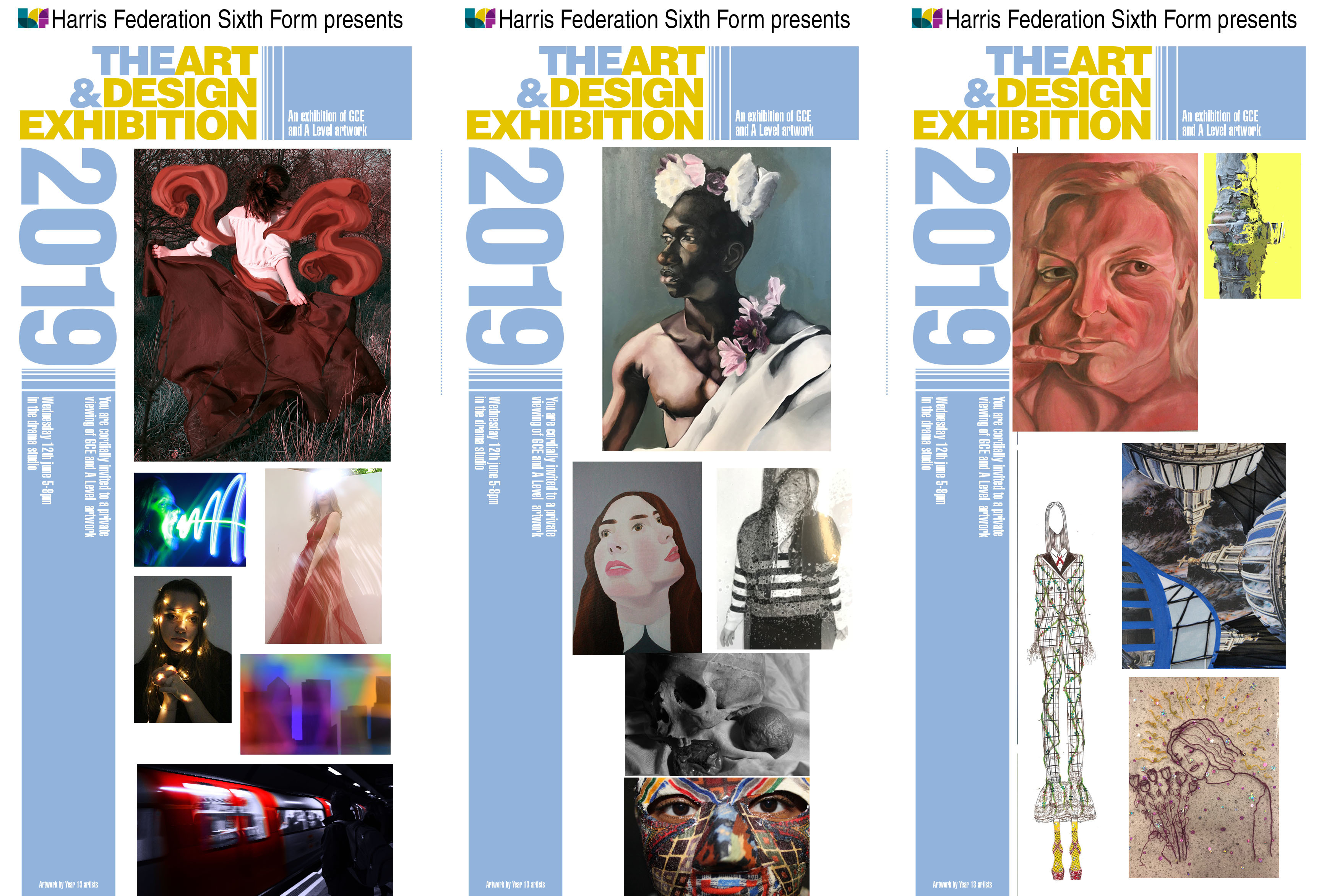Art exhibition A Level 2019   poster edit