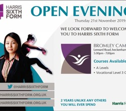 Sixth Form Open Evening - 21 November 2019