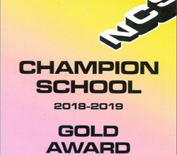 NCS Gold Award for HGABR!
