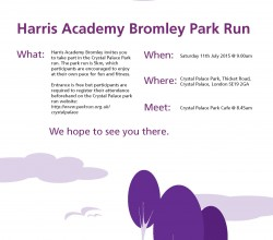 Join HGABR at the Crystal Palace Park run