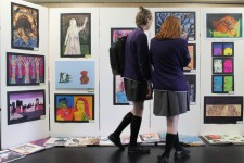 Art GCSE Exhibition 2015-16 (8)