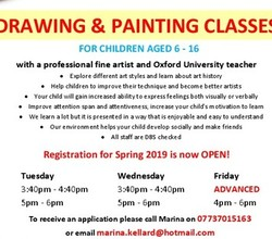 Local Maths, Spanish and Art Classes
