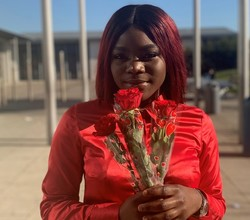 Year 12 Science Students Raise Money with Roses