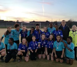 Chafford Girls Win Tournament with Golden Goal