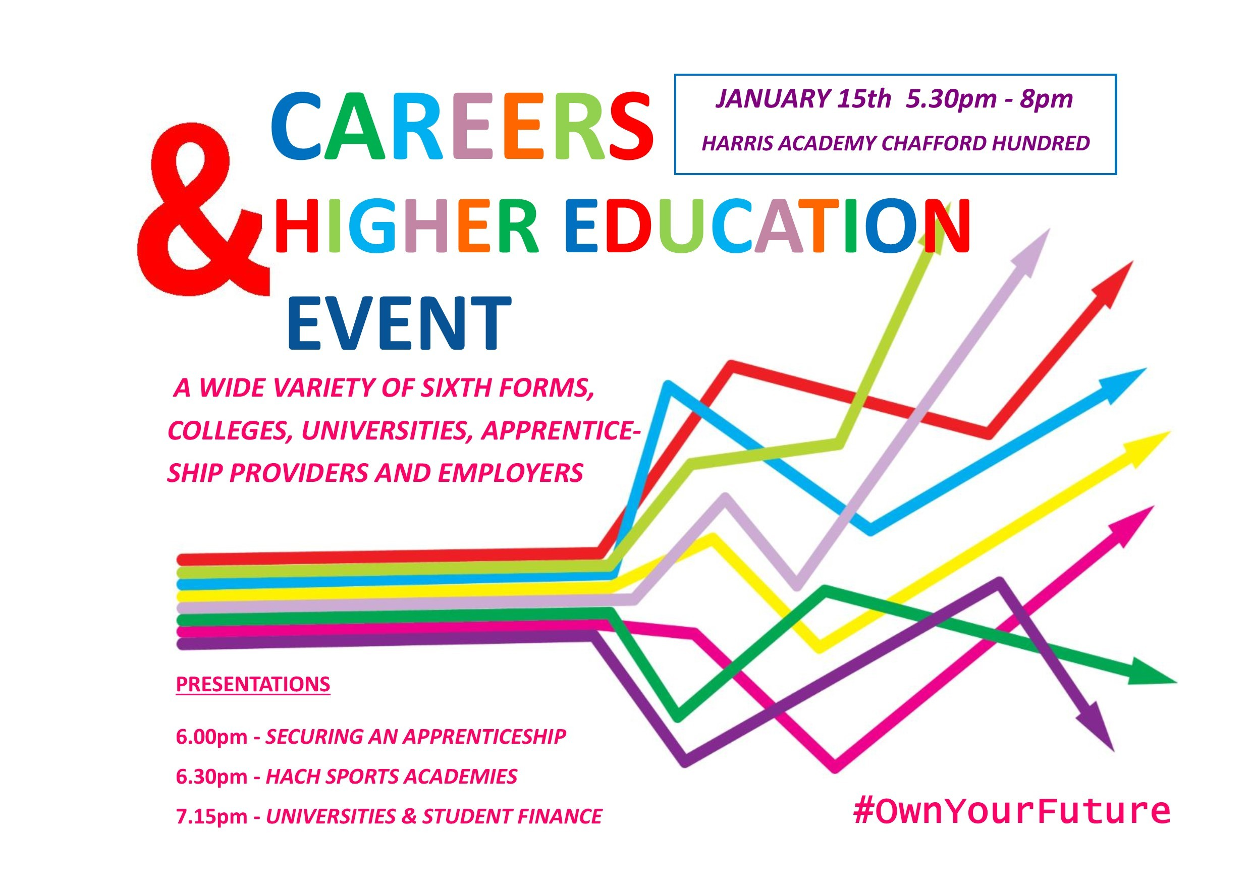 Careers Fair 2020 poster