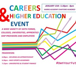 Careers & Higher Education Event at Harris Academy Chafford Hundred