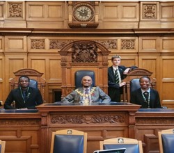 Junior Ambassadors Visit Croydon Mayor