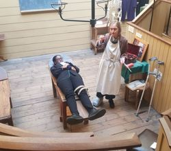 Victorian Surgery and Public Health Issues Come to Life