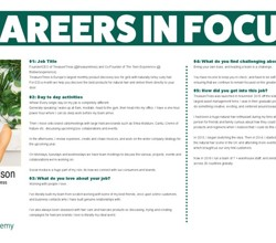 Career in Focus - Jamilia Donaldson