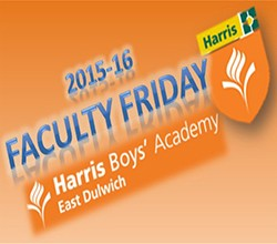 Faculty Friday - 18 September 2015