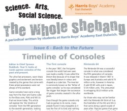 The Whole Shebang - Issue 6 - Student Periodical