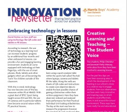 Innovation Newsletter - Issue 1 - November 2015