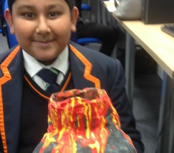 Wasim's Active Volcano is Geography Homework