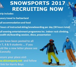 Snowsports Trip 2017 - Book Your Place Now