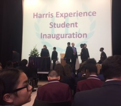 Welcoming Year 9 to the Harris Experience
