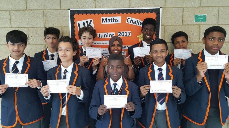 Maths Challenge Year 8