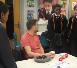 Author Phil Earle Tells Boys Why He Became a Writer