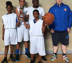 Students Run Year 7 Basketball Tournament