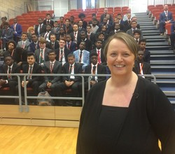 9/11 Survivor Tells her Moving Story to Sixth Form
