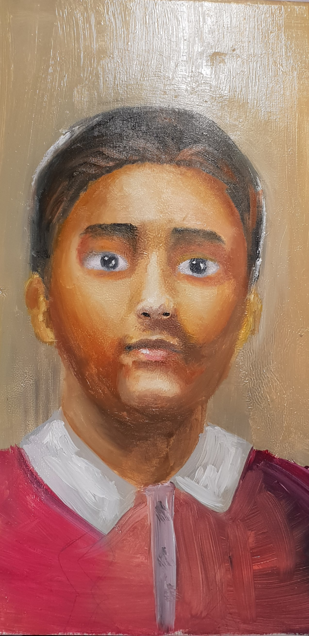 Hassan's oil painting